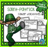 French St Patrick's day printables/ Fiches d'activités de