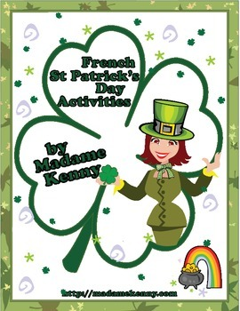 French St Patrick's Day Activities