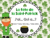 "French St. Patrick's Day ""J'ai Qui a ?"" Class Game (Le jour de la Saint-Patrick)"