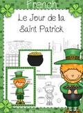 French: St. Patrick's Day (Le Jour de San Patrick) workshe
