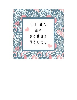 French Valentine's Day Cards