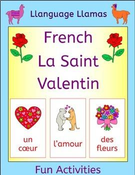 French Valentine's Day - La Saint Valentin