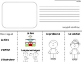 French Story Elements Retelling Flap Book