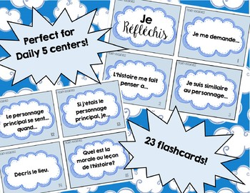 French Story Retell Flashcards