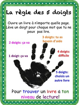 "French: ""Stratégies de lecture: 15 affiches"", French"