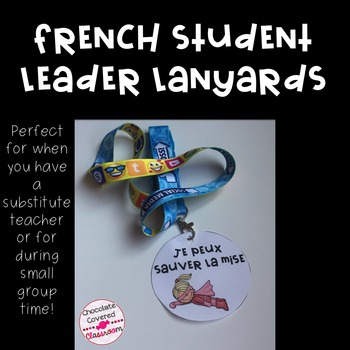 French Student Leader Lanyards