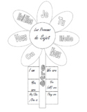 French Subject Pronoun Graphic Organizer