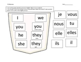 French Subject Pronouns Activity