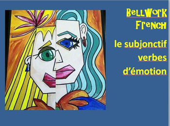 French Subjunctive BELLWORK Bundle