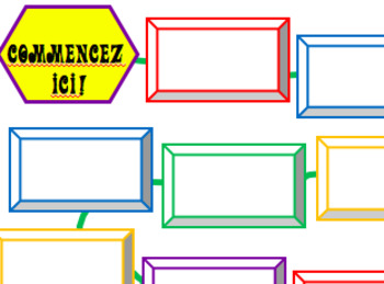 French Subjunctive Board Game and Template