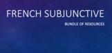 French Subjunctive : Bundle of 8 activities