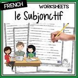 French Distance Learning Friendly - le subjonctif (présent