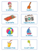 French Summer BINGO Game - French Summer Vocabulary