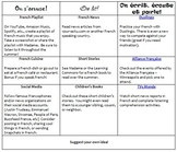 French Summer Enrichment Activities