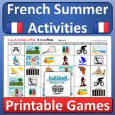 L'Été / Les Vacances (French Summer Vacation) Games
