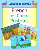 French Summer Vacation - write a postcard - Cartes Postales