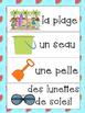 L'été & la plage bundle- French Summer Vocabulary Bundle