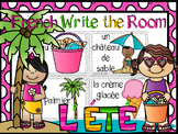 French Summer Write the Room-l'été