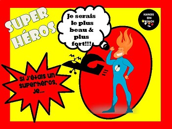 French Superhero Conditional Project