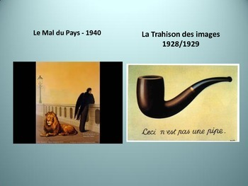 French Surrealism Slide Presentation