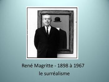 French Surrealism Slide Presentation