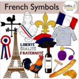 French National Symbols Clip Art