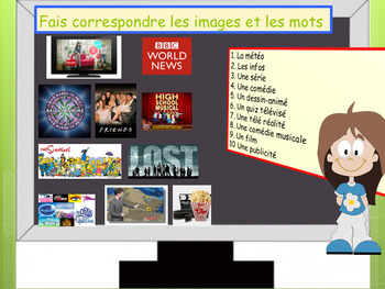 French TV programs and near future tense full lesson for beginners