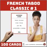 Classic French Taboo Speaking Game - Jeu de Tabou en Français