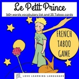 French Taboo game - Le Petit Prince