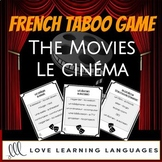 French Taboo game - le cinéma movies