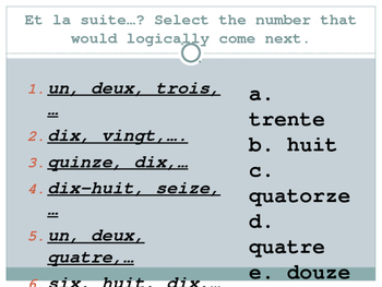 French Talking About Where You Live