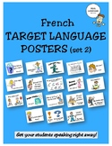 French Target Language Posters - Set 2