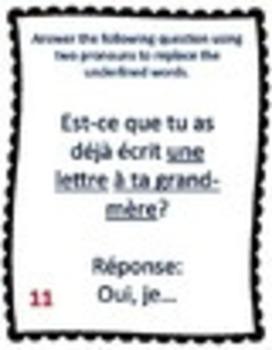 French Task Cards Bundle - Cartes à Tâches