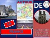 French Task Cards: Les Villes Françaises