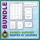 French Teaching Material - Colored Shapes - Abstract