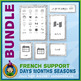 French Teaching Material - Days Months Seasons - Abstract