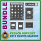 French Teaching Material - Days Months Seasons - Jungle
