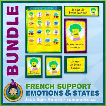 French Teaching Material - Feelings and States of mind - Circus