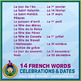 French Teaching Material - Holidays - Abstract
