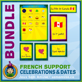 French Celebrations • Flash Cards & Word Wall Posters Bund