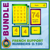 French Numbers 0 to 100 • Posters & Flash Cards Bundle • C
