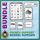 French Teaching Material - School Supplies - Circus