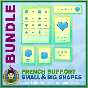 French Teaching Material - Shapes - Abstract