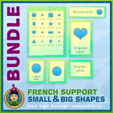 French Shapes • Posters & Flash Cards Bundle • Abstract Theme