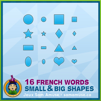 French Teaching Material - Shapes - Circus