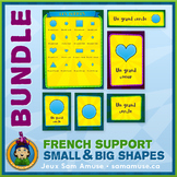 French Shapes • Posters & Flash Cards Bundle • Circus Theme