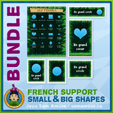 French Shapes • Flash Cards & Word Wall Posters Bundle • J