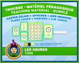 French Reading Time • Flash Cards & Word Wall Posters • Ab