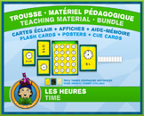 French Reading Time • Flash Cards & Word Wall Posters • Ci