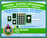 French Reading Time • Flash Cards & Word Wall Posters • Ju